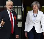 May pide a Corbyn llegar a un consenso para aprobar el acuerdo de 'brexit'