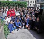 Alumnos del colegio Vedruna de Pamplona realizan un viaje al pasado
