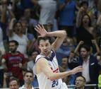 El Real Madrid golpea primero ante un gran Valencia Basket