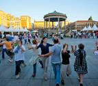 Los bailables de txistu y gaita vuelven este jueves a la Plaza del Castillo