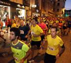 Boulame y Malón, campeones en la carrera nocturna de Tudela