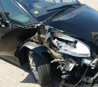 """Así quedó el coche: la policía considera """"imposible"""" que el conductor no se diera cuenta"""