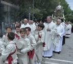 La procesión del Corpus sacará dos altares a la calle