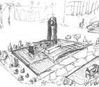 Un libro recupera el 'monumento al foguerer' de Oteiza