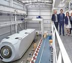 Ayerdi se interesa por el funcionamiento de Nordex Acciona Windpower
