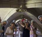 El claustro gótico de Pamplona: 'abierto por obras'