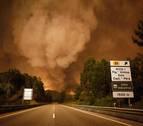 El incendio de Portugal avanza hacia el norte y obliga a evacuar varias aldeas