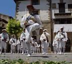 Danzas que unen pasado y presente en Sangüesa