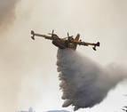 Desmienten que un avión se haya estrellado en las labores de extinción en Portugal