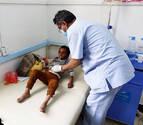 La epidemia de cólera en Yemen se ha cobrado ya más de 1.100 muertos