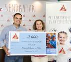 Sendaviva dona 2.000€ a ACNUR para escolarizar a 100 niños refugiados