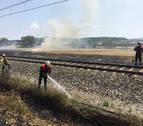 Registrados tres incendios en Lónguida, Larragueta y Fontellas