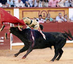 Cornada para Roca Rey en Badajoz a dos semanas de San Fermín