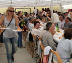 Vidángoz reúne a más de 200 donostiarras de las viejas colonias