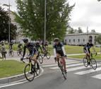 Más protección para los ciclistas en las carreteras navarras