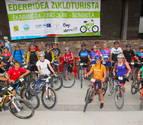 La Vía Verde del Bidasoa acoge la primera Ederbidea Zikloturista