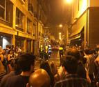 Incendio sin heridos en la calle Pozoblanco de Pamplona