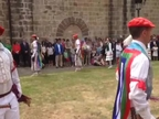 Las instituciones forales homenajean a los Reyes de Navarra en Leyre