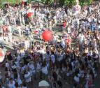 Barañáin se anuda hoy el pañuelo rojo para disfrutar de cinco días de fiestas