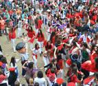 Anfas abre las fiestas de Barañáin en un inicio pasado por agua