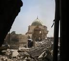 Tropas iraquíes toman las ruinas de la mezquita dinamitada por Estado Islámico