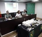 Nueve detenidos en un golpe contra la droga en Navarra antes de San Fermín