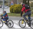 El carril bici de Sarriguren podría comenzar a construirse este año