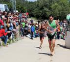 Rosado y Rodríguez ganan en el  Triatlón Reto del Ebro de Tudela