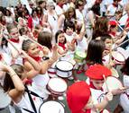 Lesaka recibe sus fiestas al son de los tambores