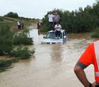 Los bomberos de Navarra atienden varias incidencias por las tormentas de lluvia