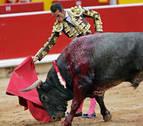 Pepe Moral logra una oreja en una ardua corrida