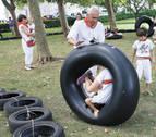 Los espacios infantiles y de multideporte en San Fermín