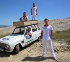 Cuatro navarros a Mongolia en un coche de 44 años