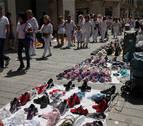El comercio exige medidas al Ayuntamiento contra los 'manteros'