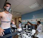 Los jugadores de Osasuna siguen con las pruebas previas a la pretemporada