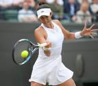 Muguruza sigue firme y se mete en las semifinales de Wimbledon