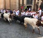 Los Victoriano del Río atropellan en el sexto encierro de San Fermín y 'perdonan' en Telefónica