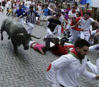 Vídeo del octavo encierro de San Fermín