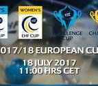 El Helvetia Anaitasuna conocerá este martes a sus dos posibles rivales en la EHF