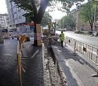Las obras para reordenar el tráfico levantan el centro de Pamplona