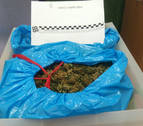 Detenido en Etxarri Aranatz por llevar 2,5 kilos de marihuana en su vehículo