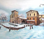 Elizondo acoge una exposición con 45 obras del pintor Miquel Cazaña