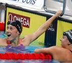 Mireia Belmonte gana la medalla de oro en los 400 metros libres