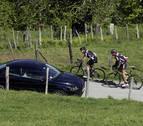 Rutas protegidas para ciclistas en Navarra