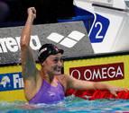 Mireia Belmonte se proclama campeona del mundo en 200 mariposa