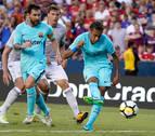 Neymar da la victoria al Barcelona ante el Manchester United