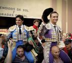 Puerta grande para el navarro Marín, Rivera Ordóñez y Juan Bautista en Tudela