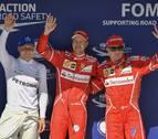 Vettel logra la 'pole' en el GP de Hungría, Alonso saldrá séptimo y Sainz, noveno