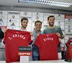 Osasuna presenta a Joaquín Arzura y Xisco