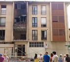 Vecinos de Puente la Reina ceden 10 pisos para realojos tras la explosión